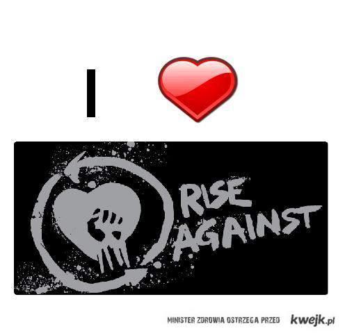 i <3 Rise Against