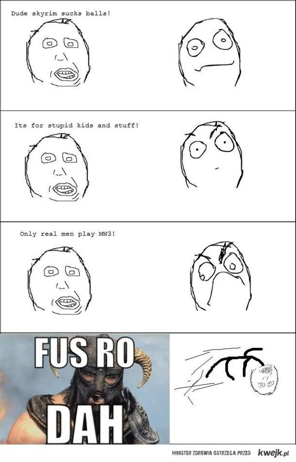 FUSRODAH!