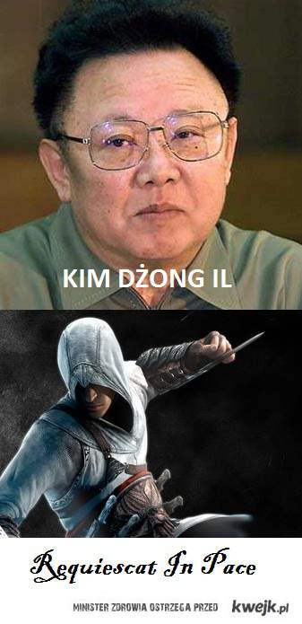 Assassin's Creed requiescat in pace kim dżong il
