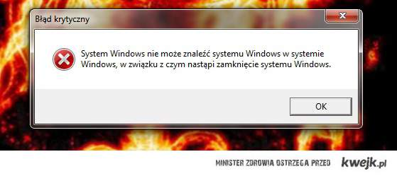Windows error