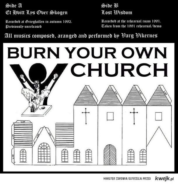 Spalmy sobie kościół