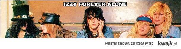 izzy forever alone