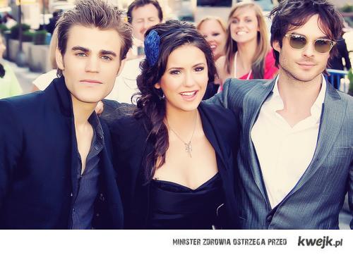 Paul, Nina & Ian. <3