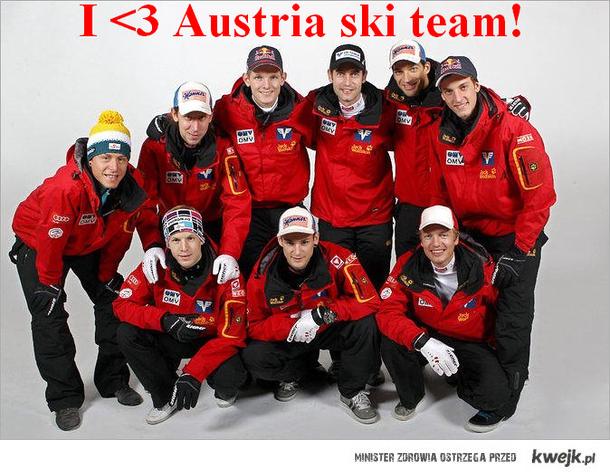I ♥Austria ski team