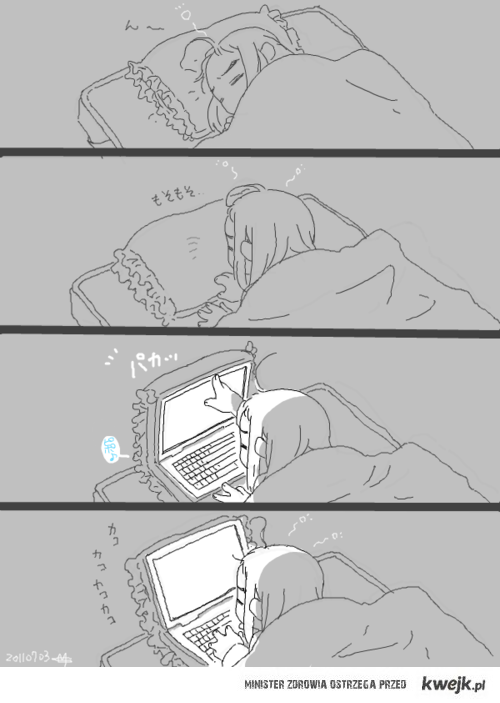 Poduszkowy laptop