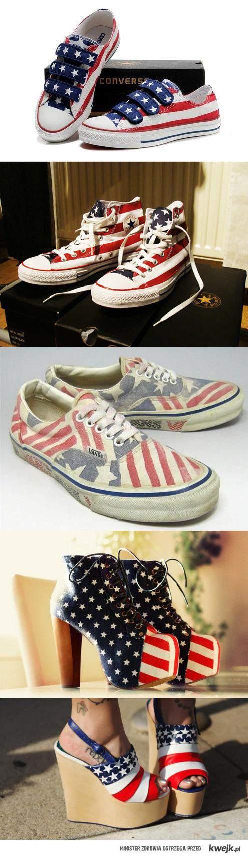 USA shoes.