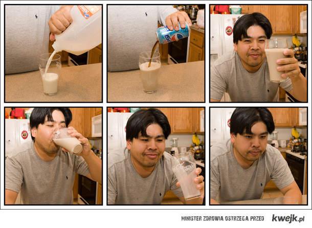 diet pepsi milk
