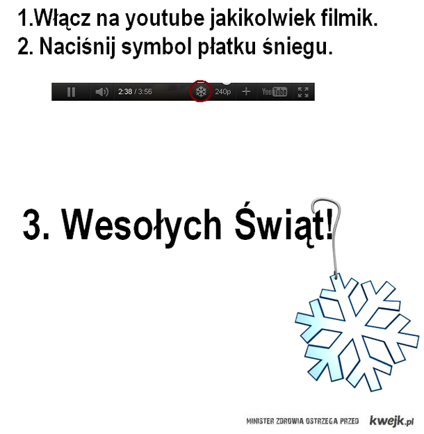 let it snow youtube!