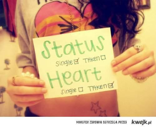 single me, taken heart