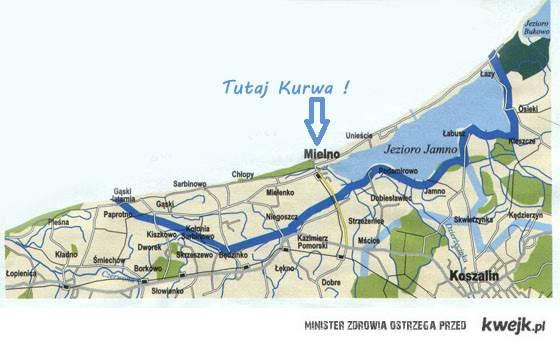 ''KURWA gdzie to Mielno''- Znalezione ! :)