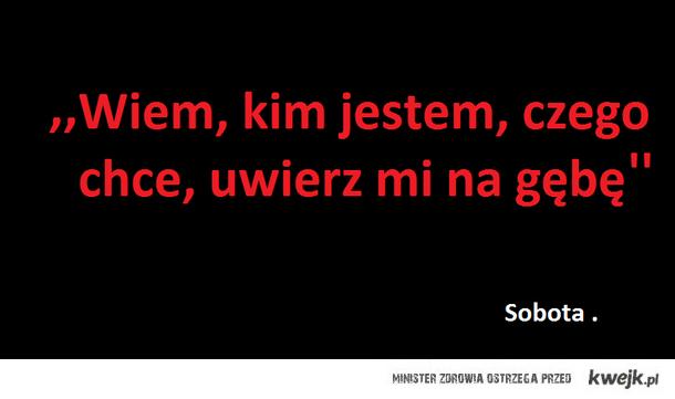 Sobota <3