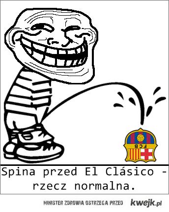 Spina przed El Clásico