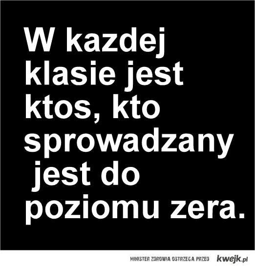 Zero klasowe