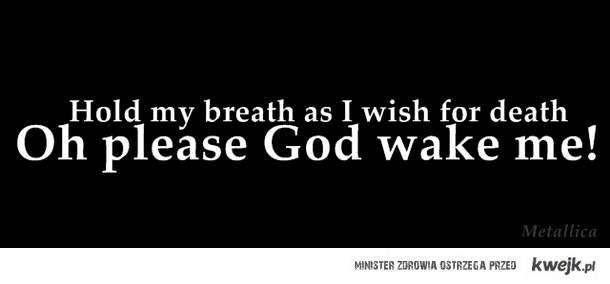 oh please God wake me!