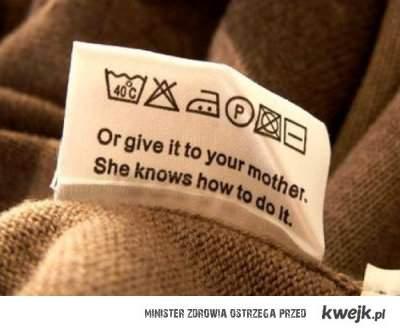 jak zrobic pranie?