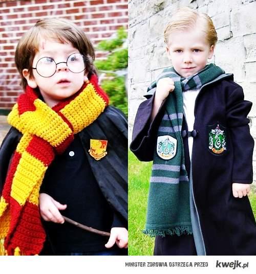 Mały Harry i Draco <3