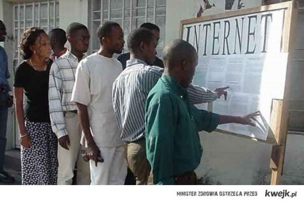 sieć w afryce