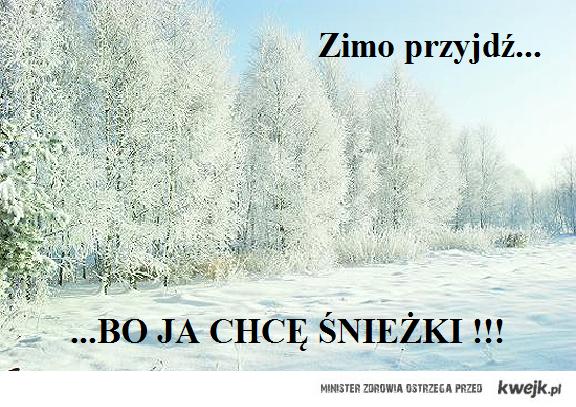 Zimo przyjdź...