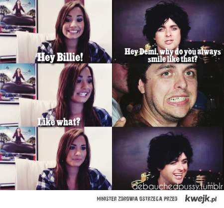 Billie and Demi