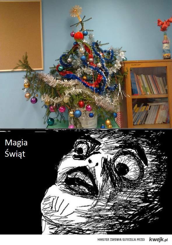 Magia Świąt w mojej szkole