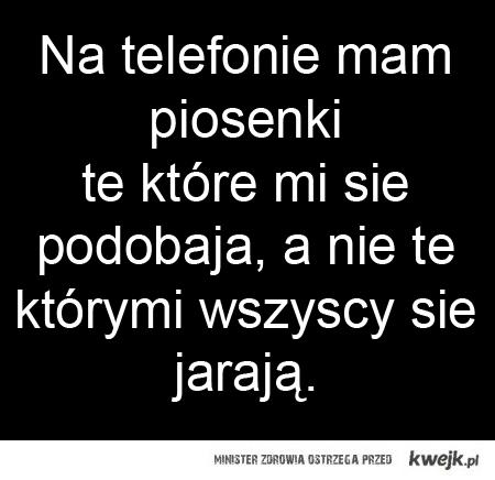 muzyka na telefon