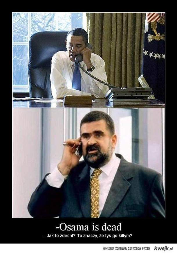Osama Is Dead