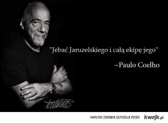Paulo Coehlo vs Jaruzel