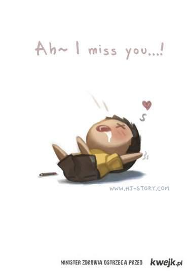 och, tęsknie za Tobą