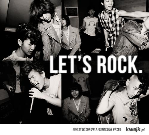 LET'S ROCK.