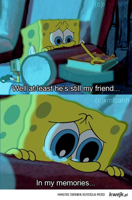 Przyjaciel w wspomnieniach