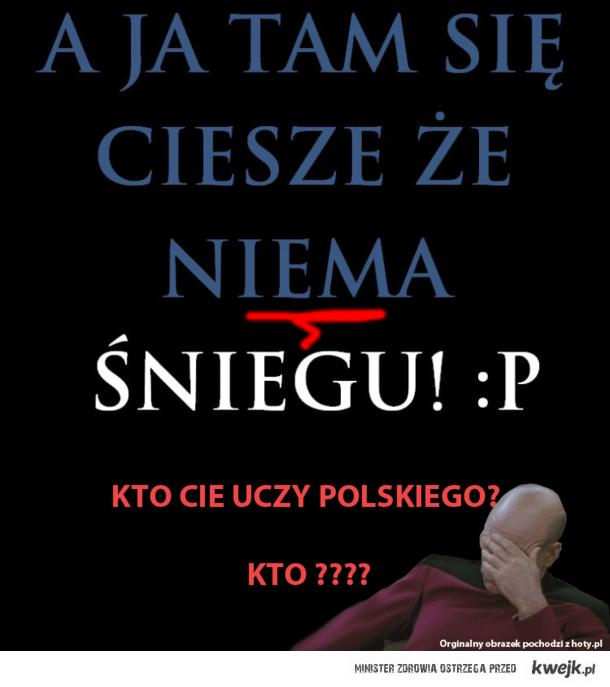 nie z czasownikami piszemy osobno :)))))))