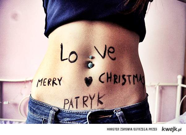Merry Christmas Patryk