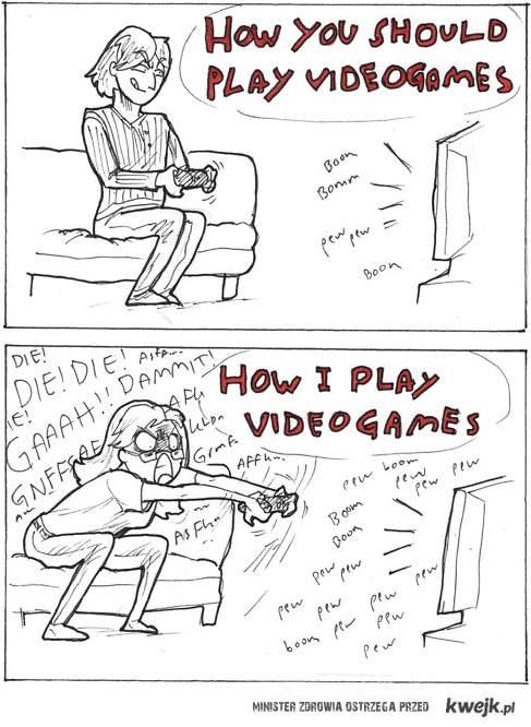 Jak gram w gry
