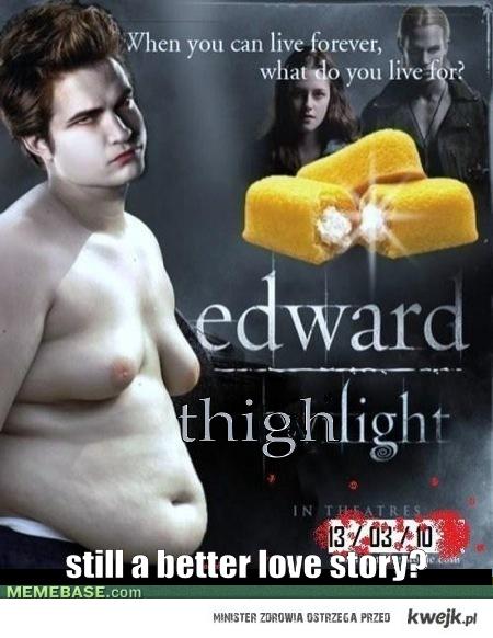 Edward i ciasteczka ;D