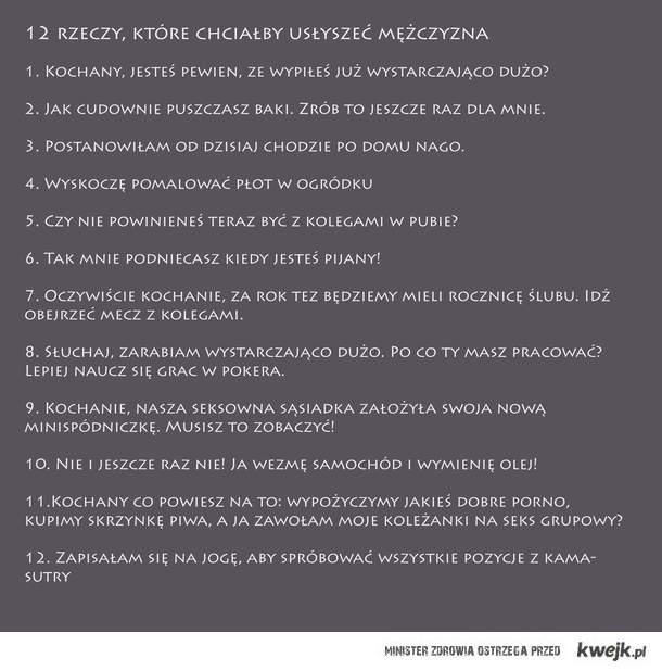 12 rzeczy