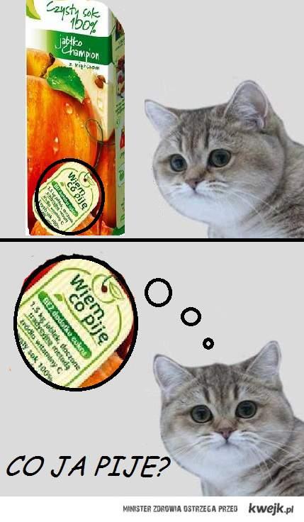 Co ja pije?