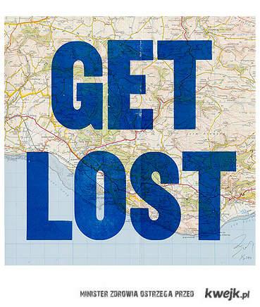 miej mapę i się zgub...