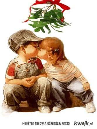 Pocałunek pod jemiołą