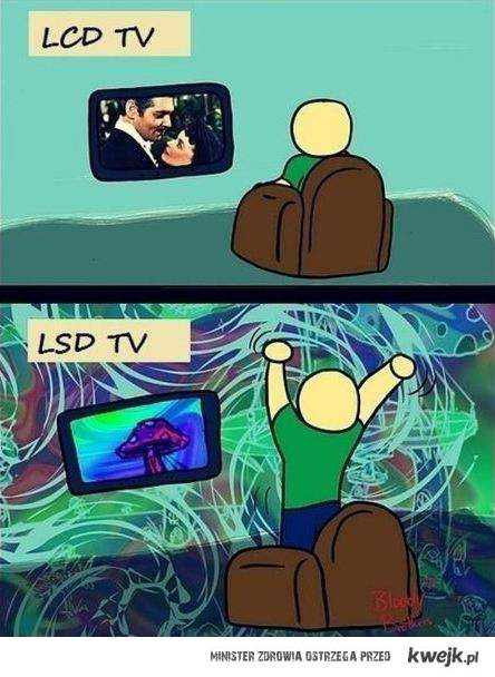 lcd tv lsd tv