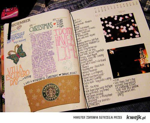 zawsze chciałam mieć taki pamiętnik *_*