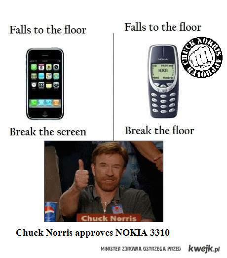 nokia 3310 chuck norris approves