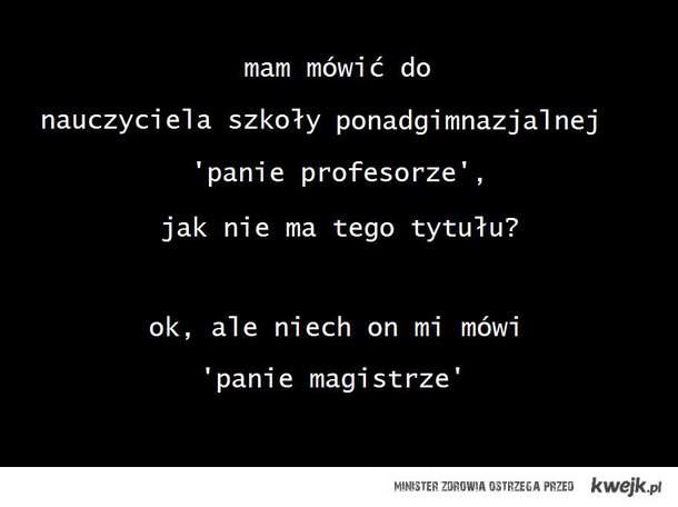 profesor/magister