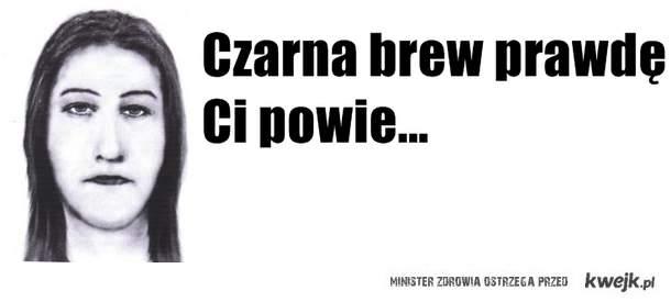 czarna brew