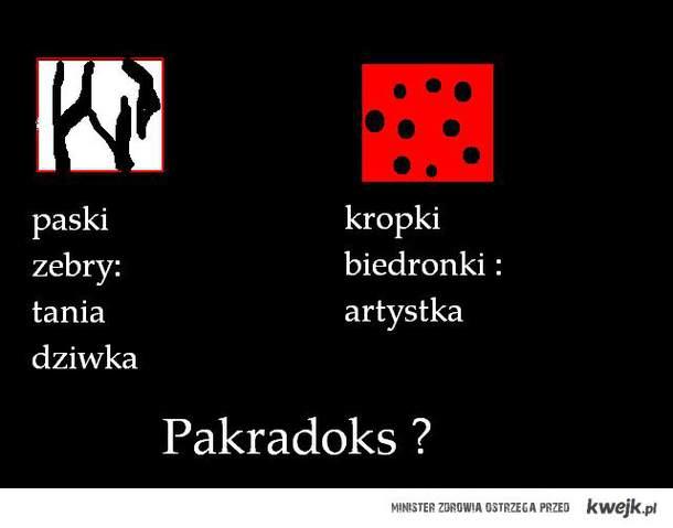 zwory, paradoks