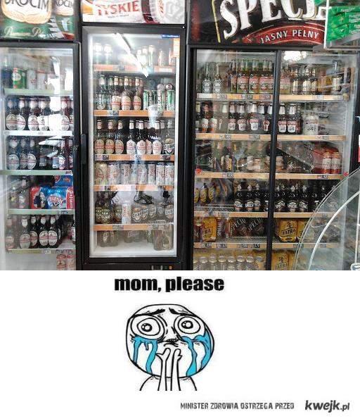 mom, please bier