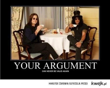Ozzy i Slash piją herbatkę