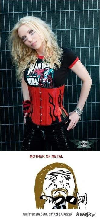Metal Girl - Mother of Metal \m/