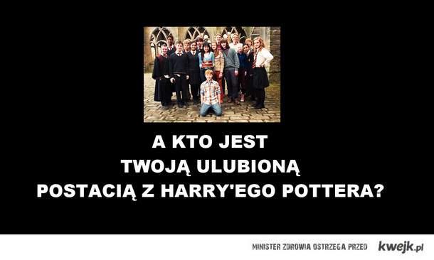 Ulubiona postać z Harry'ego Pottera