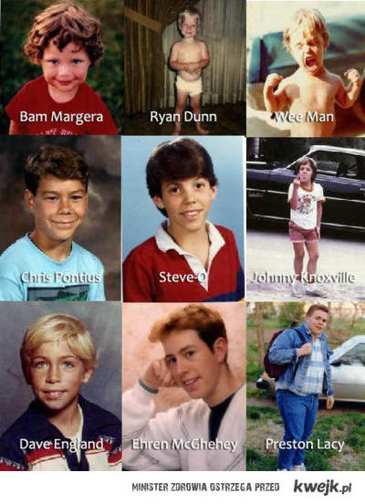 YOUNG JACKASS CREW