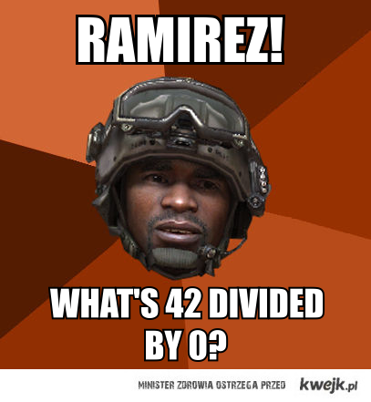Ramirez divided by zero